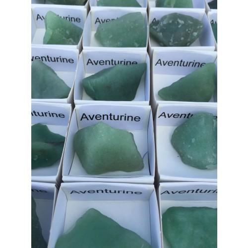 Coffret 54 pièces Quartz rose / Quartz bleu / Aventurine