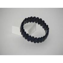 Lapis lazuli bracelet navette