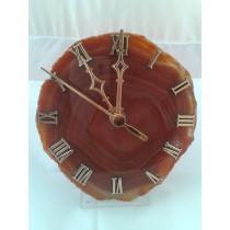 Horloge Agate tranchée