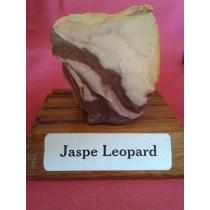 Jaspe Léopard sur socle