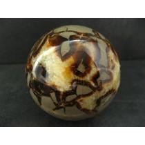 Sphère en Septaria polie