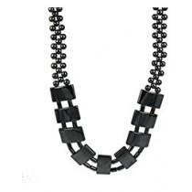Hématite Collier Perles Plates