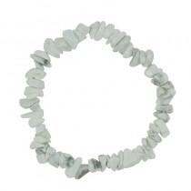 Howlite blanche bracelet
