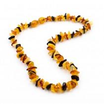 Collier d'ambre de petite taille