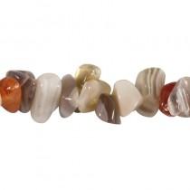 Agate marron bracelet