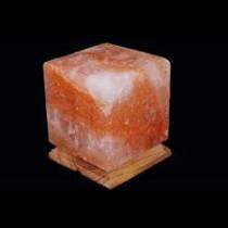 Lampe en sel Cube