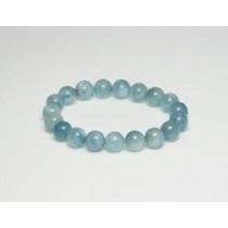 Aigue-Marine perles bracelet