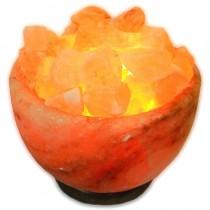 Lampe en sel Boule de feu