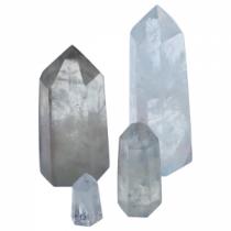 Cristal de roche  6 surfaces sur la pointe
